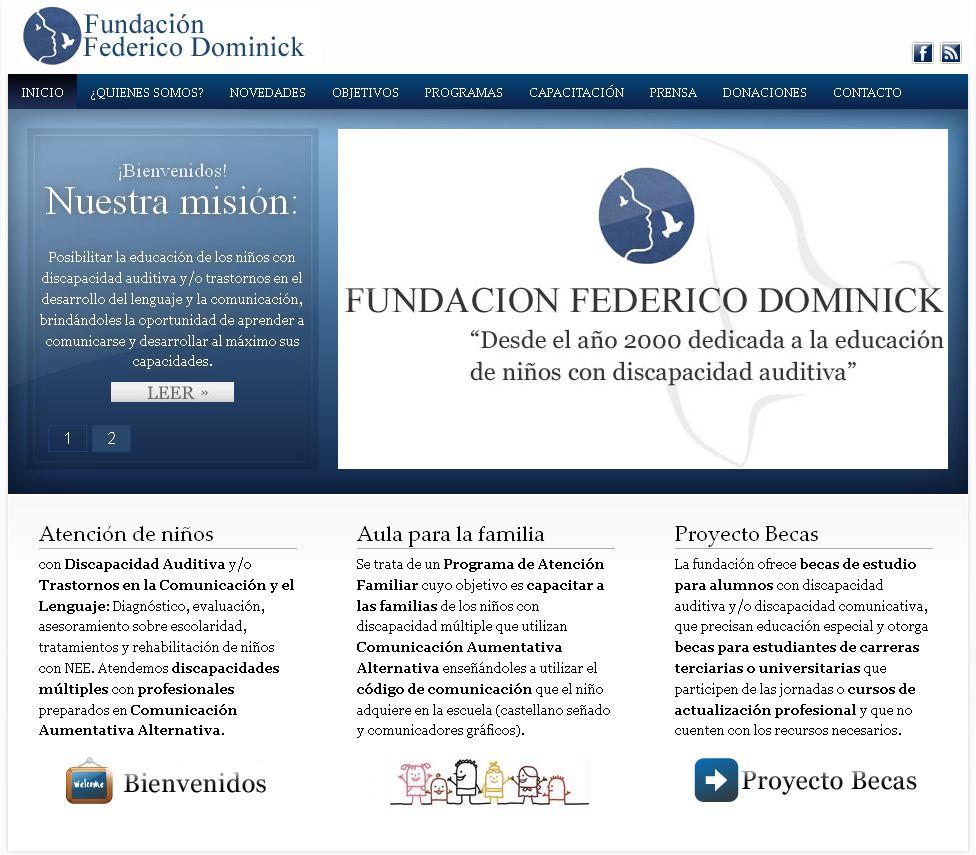 Fundacion-Federico-Dominick2 Portfolio