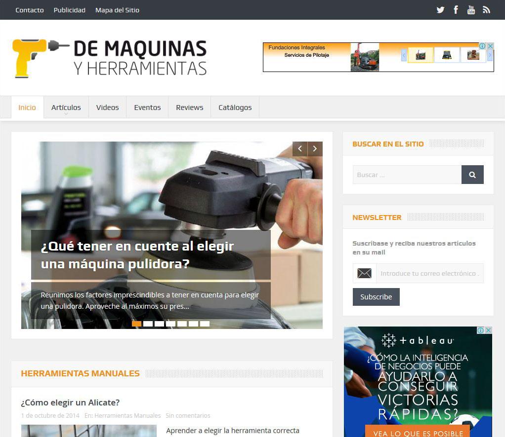 demaquinasyherramientas_com Portfolio