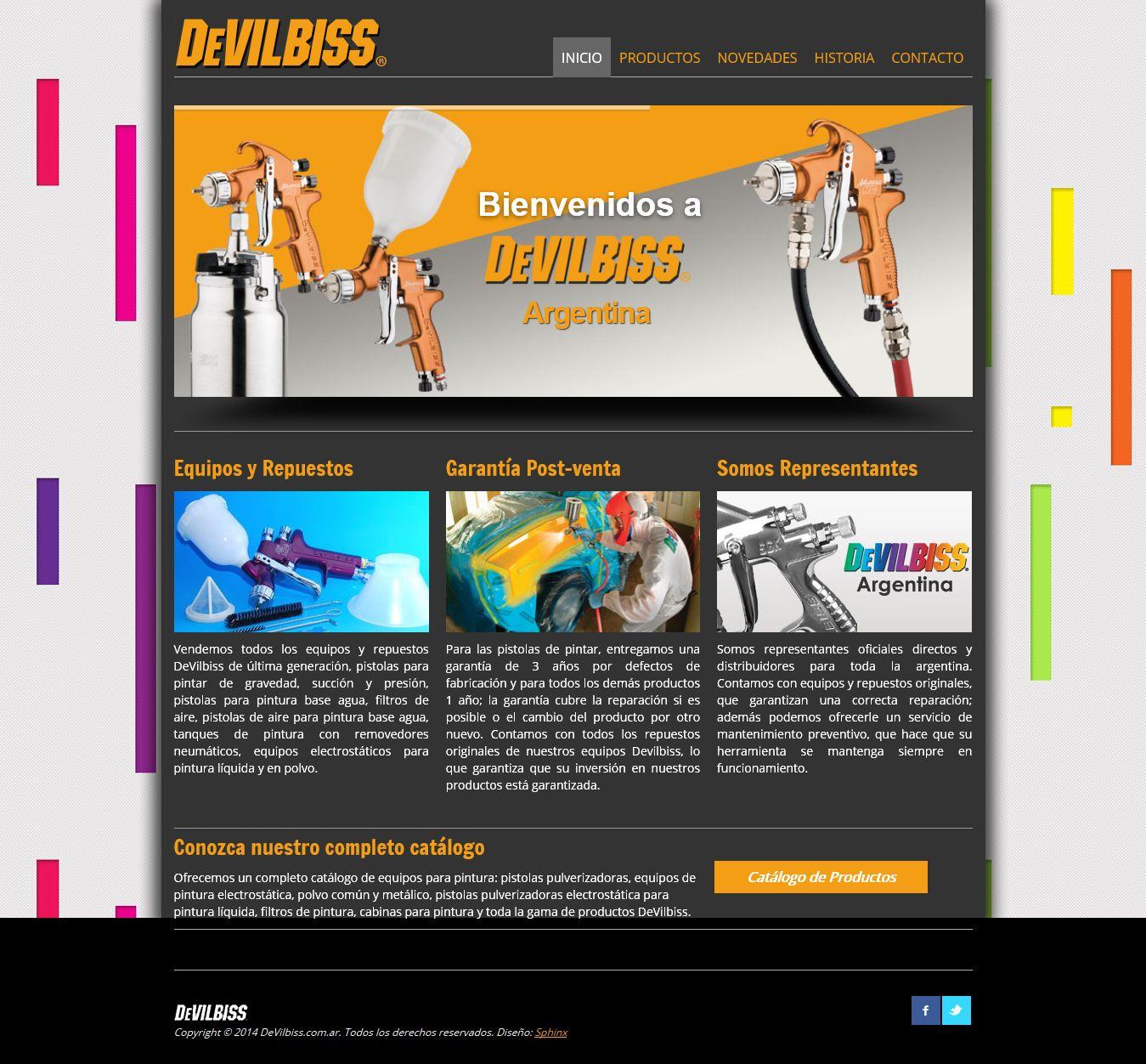 devilbiss_com_ar Portfolio